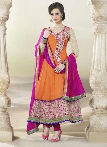 54 besten Anarkali Suit Bilder auf Pinterest | Designer kleider ...