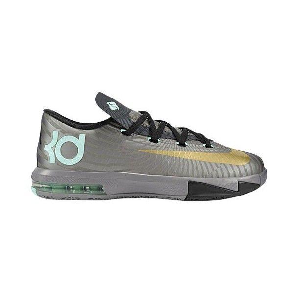Nike KD VI Boys' Grade School ($100) ❤ liked on Polyvore featuring shoes, sneakers, nike, kd en kds