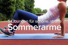 Übungen für straffe Oberarme   comuvo Blog
