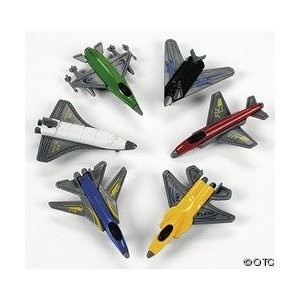 Mini Fighter Jets | 6ct for $2.49 Party favors/cupcake toppers?