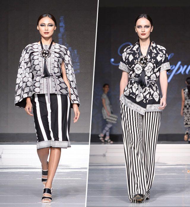 Tidak bisa dipungkiri, keberadaan kain tradisional oleh sebagian pihak sering dinomorduakan. Namun di Jakarta Fashion and Food Festival atau JFFF, kain tradisional begitu dibanggakan.