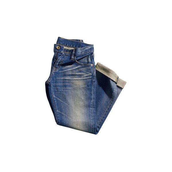ユニクロ (UNIQLO) - デニム - 2100ファッションアイテムのカタログ検索 | VOGUE.COM ❤ liked on Polyvore