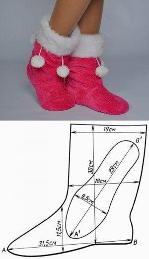 Сапожки из ткани.Хорошая идея. | Обувь своими руками | Постила