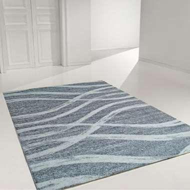 Vloerkleed Florence - grijs/wit - 160x230 cm | Leen Bakker