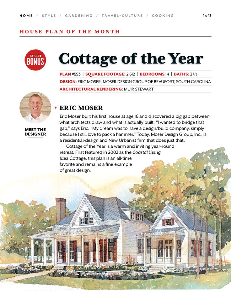 37 best Cottage of the year images on Pinterest | Southern living ...