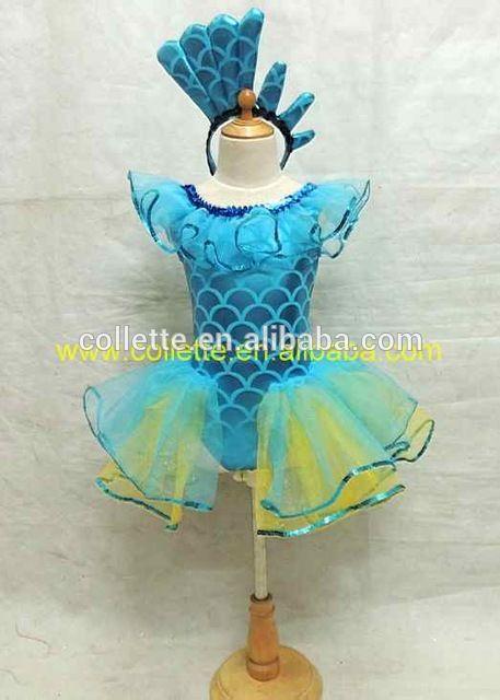 45c3afad64b2 Source MBQ450 Child lovely blue animal fish dance costumes on m.alibaba.com