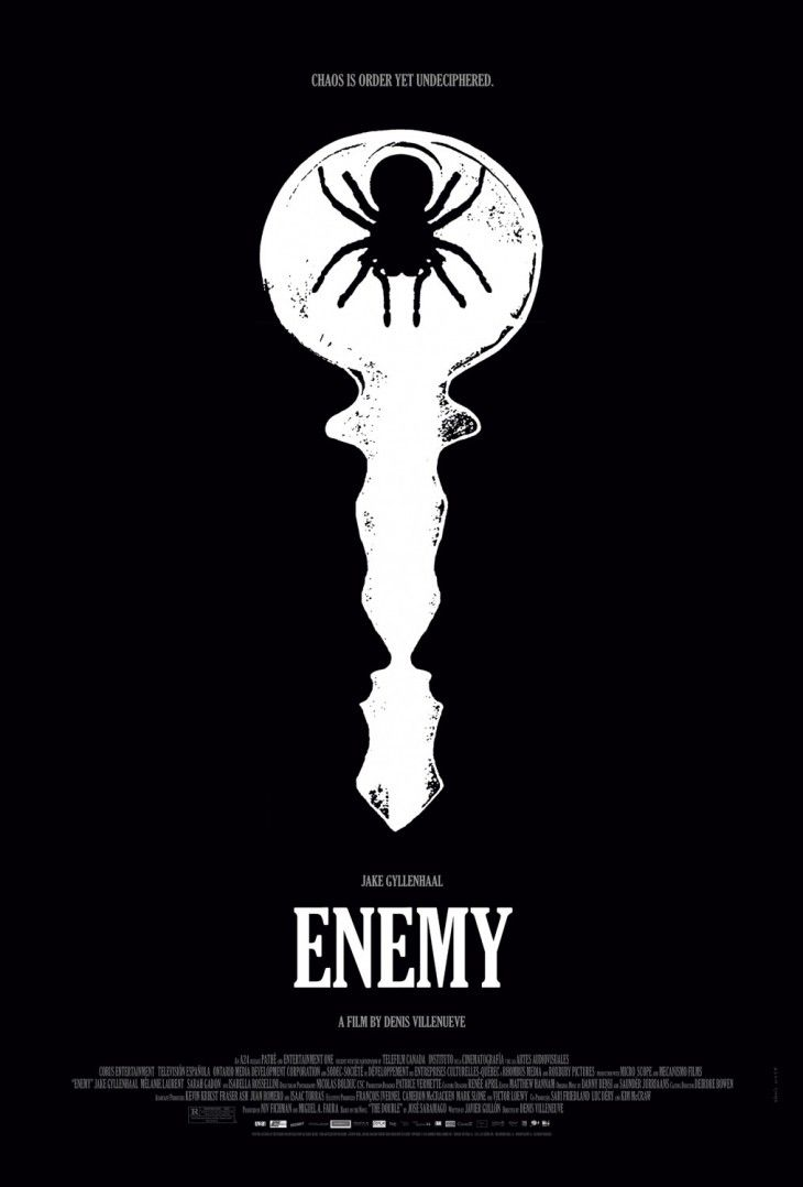 Chaos is order yet undeciphered enemy poster movie