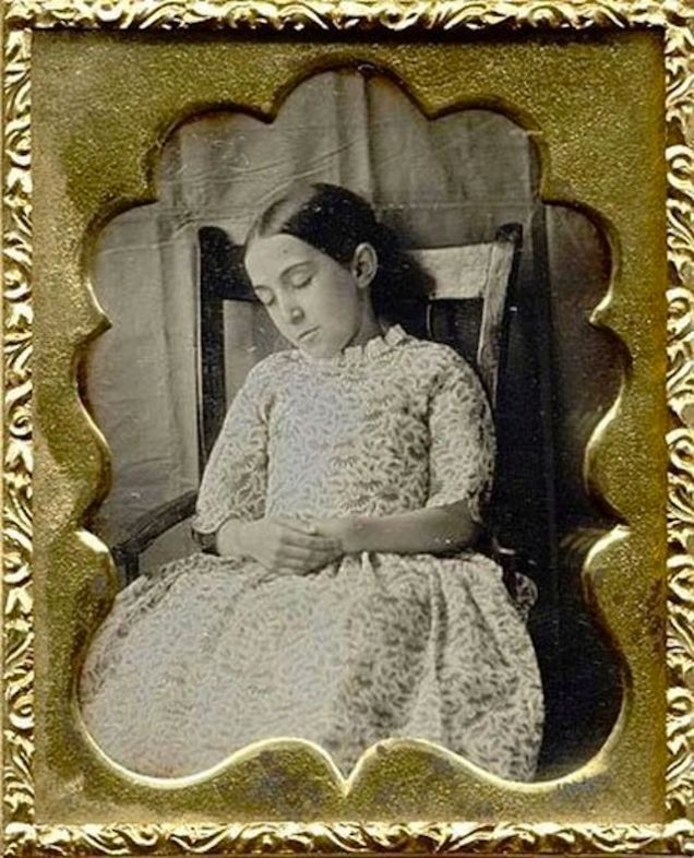 Yeah, bizarre. The Strangest Tradition of the Victorian Era: Post-Mortem Photography