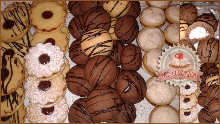 Egy alaptésztából 3 sütemény