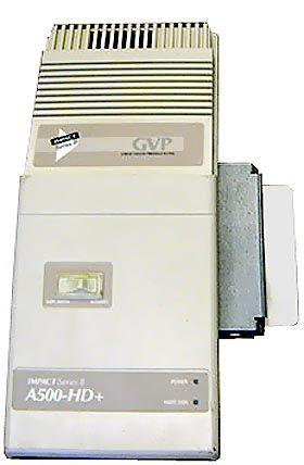 Amiga 500 external 8 MB HD