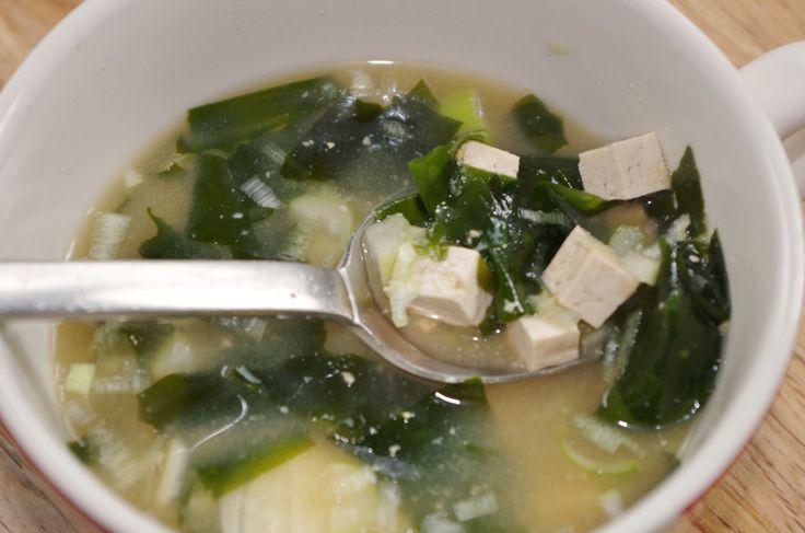 Recette soupe miso - Cuisine Japonaise - Site Recettes d'ici et d'ailleurs par Fanny GRW ©