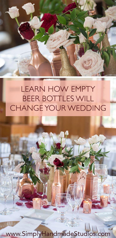 Diy Wedding Centerpiece On A Budget Part 1 Simply Handmade Studios Wedding Centerpieces Diy Diy Wedding Decorations Wedding Centerpieces