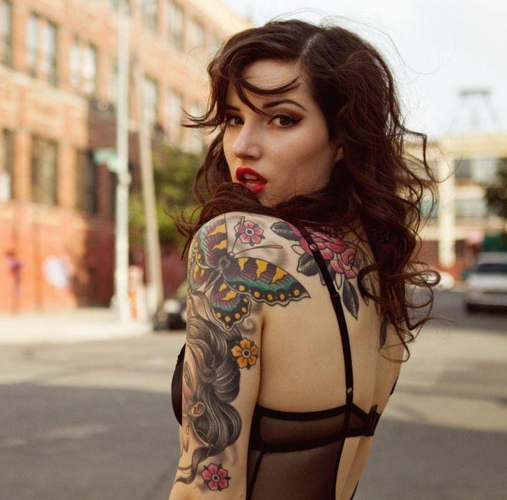Tatuagens Femininas: 197 Fotos PERFEITAS para inspirar!                                                                                                                                                                                 Mais