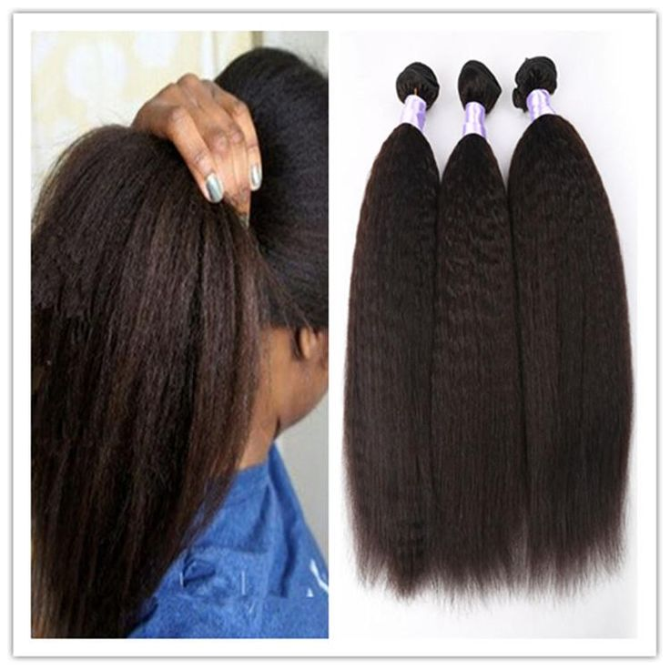 25 unique cheap hair extensions ideas on pinterest hair weaves 8a virgin hair yaki straight weave coarse yaki human hair weft yaki brazilian remy kinky straight hair no shedding 300gbundle pmusecretfo Choice Image