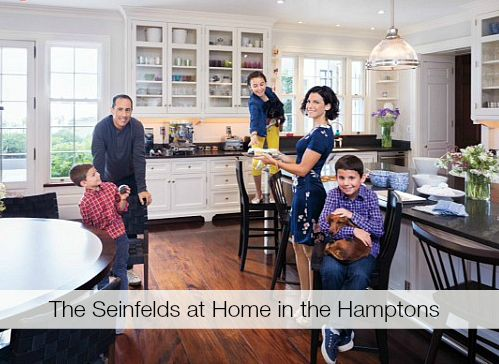 Jerry Seinfeld's Hamptons House featured in InStyle Magazine | hookedonhouses.net