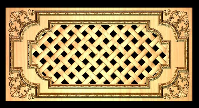 download 3d panel free stl file for cnc router download