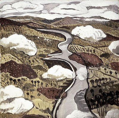 Margaret Preston  Flyingover the Shoalhaven River  1942