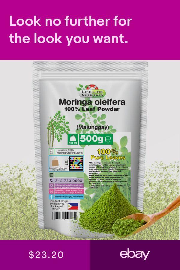 Vitamins Minerals Health Beauty Ebay With Images Moringa