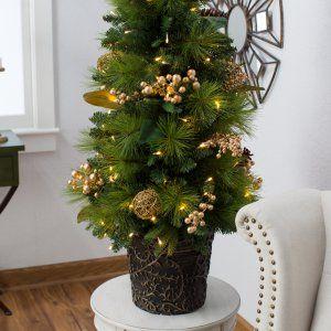 New Weihnachtsb ume auf Hayneedle k nstliche Weihnachtsb ume