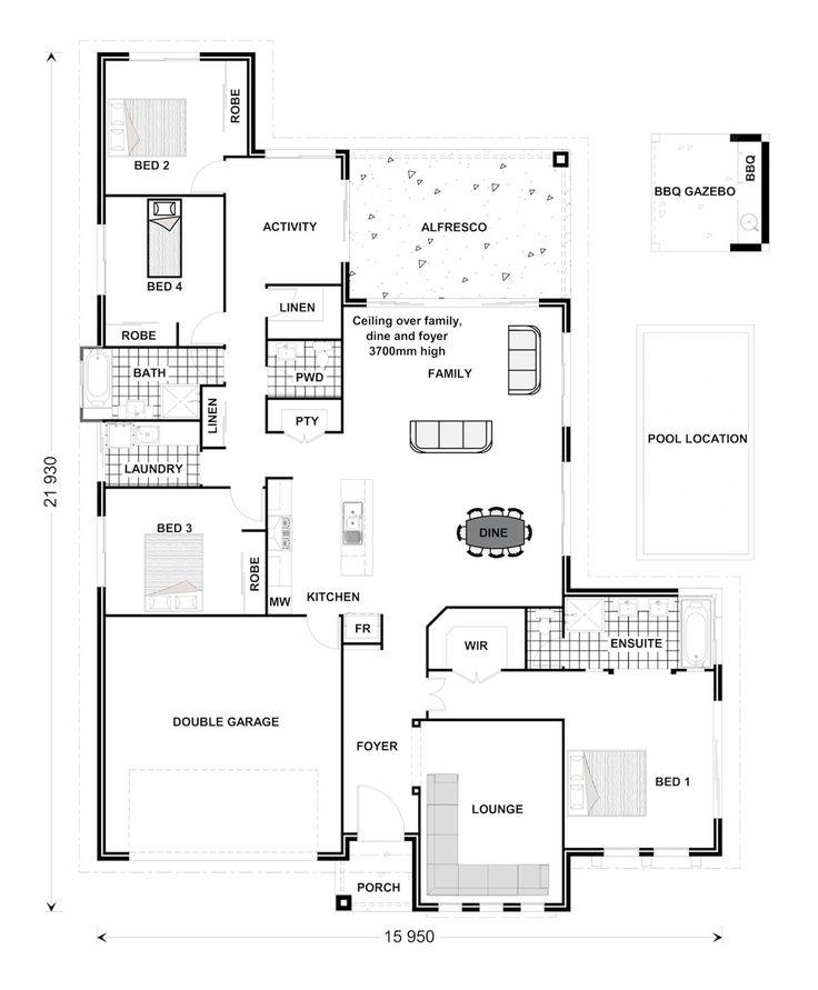 images about House Plans on Pinterest   Floor Plans  House    Silkwood   Capricorn  Our Designs  Cairns Builder  GJ Gardner Homes Cairns