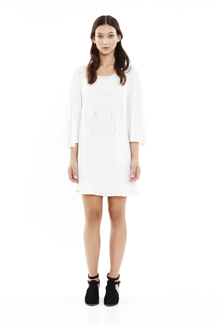 Maya Dress in Ivory