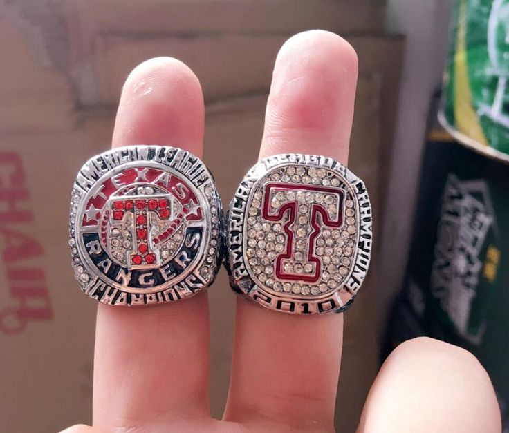New Arrival Set 2010 2011 Texas Rangers Baseball Super Bowl  replica Championship Ring as Gift and Collections for Fans