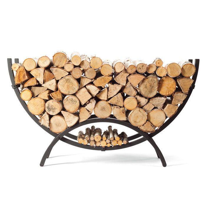 $199.00 online only http://t.brookstone.com/the-woodhaven-small-crescent-firewood-rack?bkiid=SearchResults%7CCategoryProductList%7C729167p