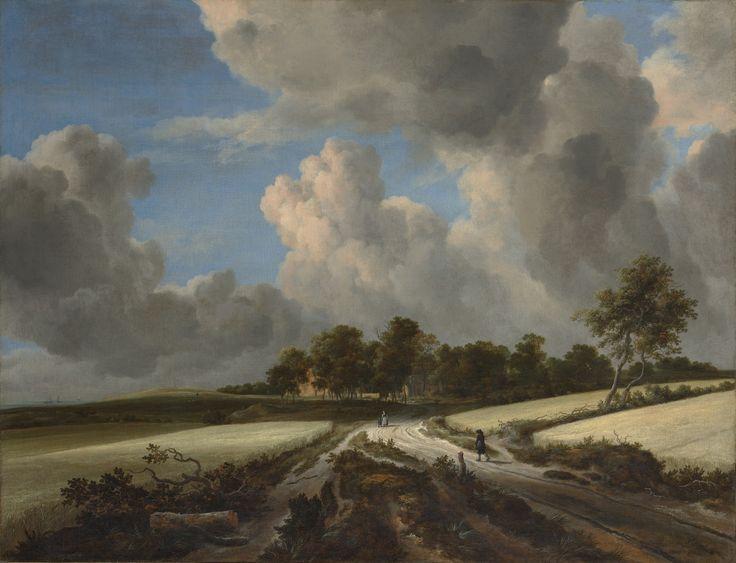 Jacob van Ruisdael - Tarwevelden (1670)
