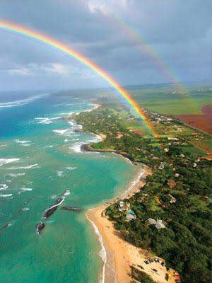 虹も楽しみたい♪ *ハワイ ハネムーンおすすめプラン*