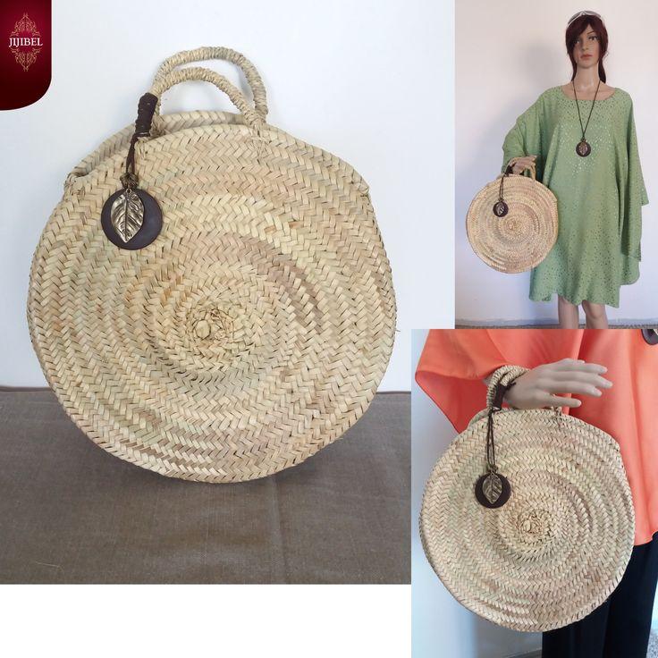 panier rond avec ou sans pendentif sac panier marocain. Black Bedroom Furniture Sets. Home Design Ideas