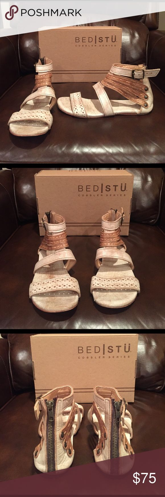 Like New Bed Stu SANDALS Worn only once! Excellent condition! SZ 9! Very, very comfortable! Bed Stu Shoes Sandals