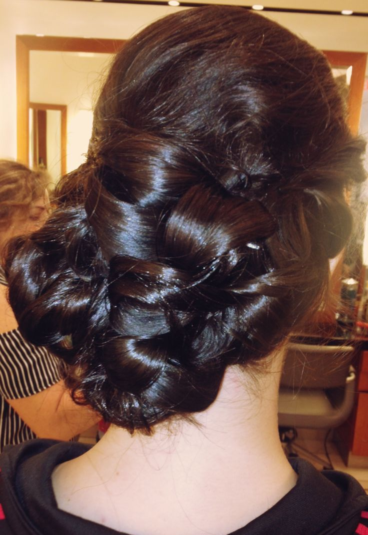 A detailed Bridal Hair Style to the side.   #hair #hairstyle #bridalhair #wedding  www.donato.ca