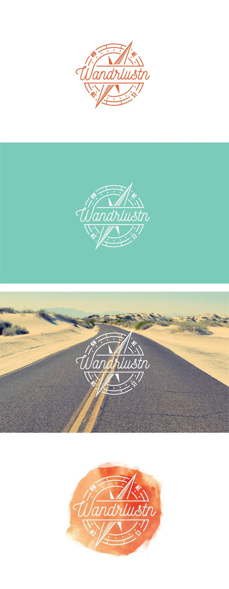 Design #23 by Matt W | Create a modern bohemian style logo for a travel blog