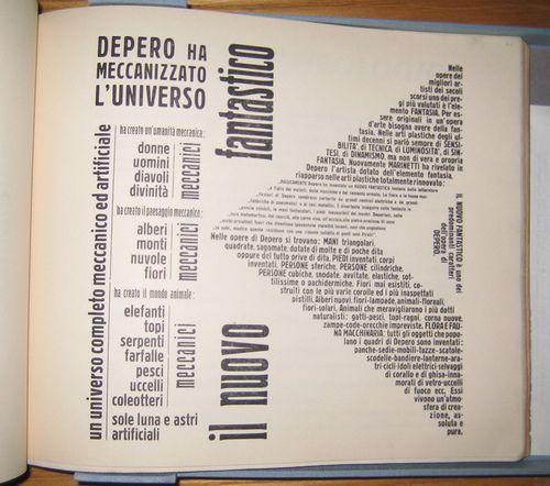Fortunato Depero: Depero Futurista, 1927