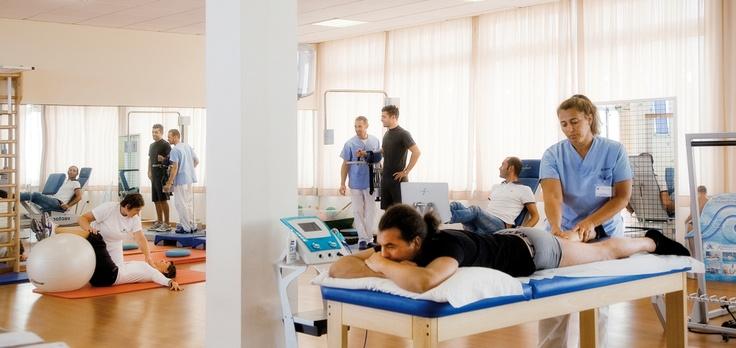 Fisioterapia. Fotogallery Riminiterme