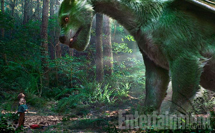 Here's Our First Good Look at the Furry Dragon of Pete's Dragon