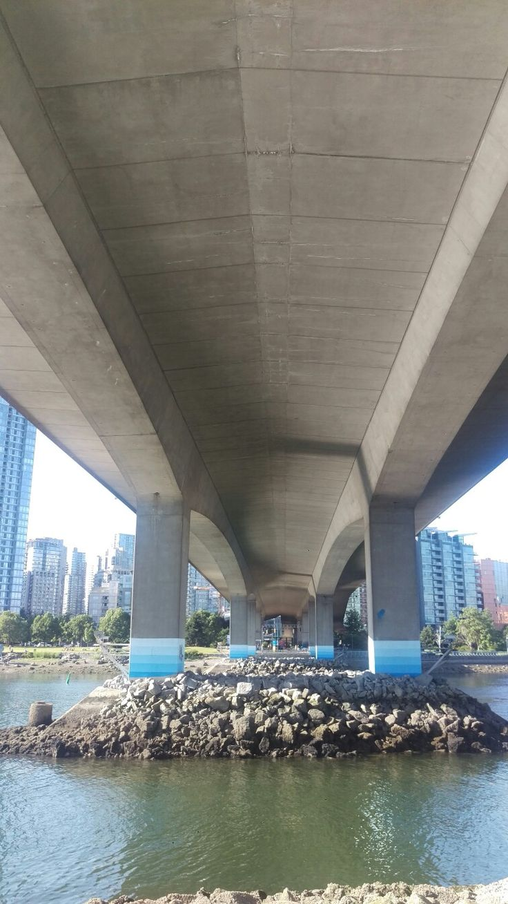 Day 329 one of the many bridges in Vancouver #cambiebridge #falsecreek