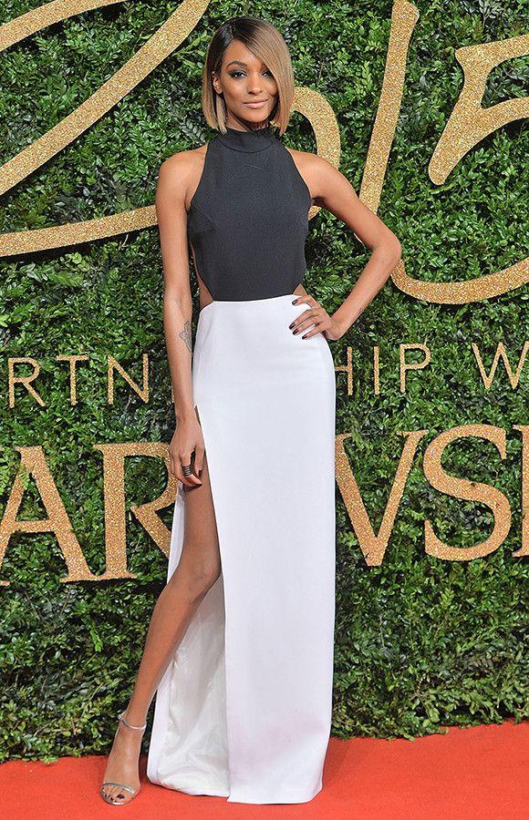 Jourdan Dunn at the British Fashion Awards 2015