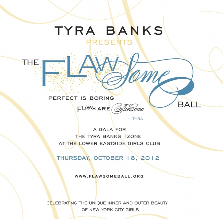 Tyra Banks Giving Back...support!