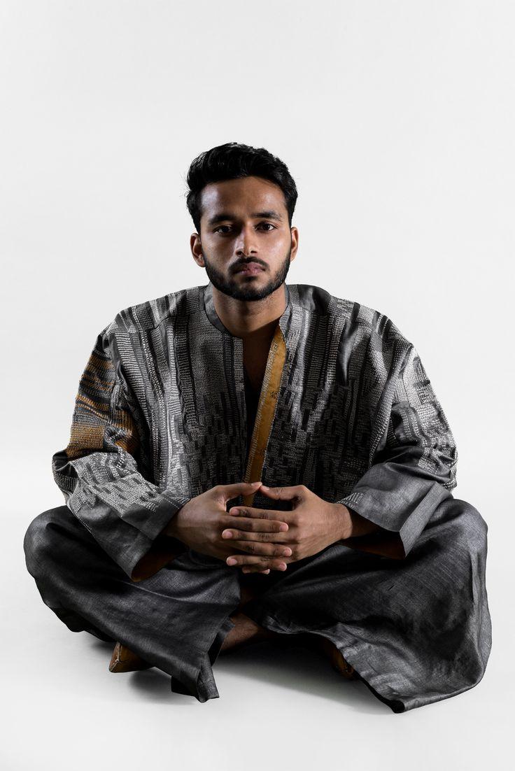 swati kalsi hand embroidered box jacket