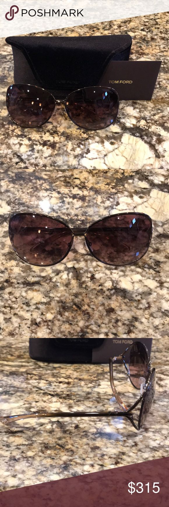 Tom Ford bronze Miranda Sunglasses Tom Ford Bronze Miranda Sunglasses Tom Ford Accessories Sunglasses