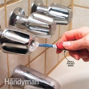 <p>You don't have to put up with the slow drip from a leaky faucet, nor with the growing stain it often leaves in the tub or shower. Fix it now and you'll prevent those headaches and save on you water bill too. The entire job, with special tools, may set you back a bit of cash, but doing it yourself is a lot cheaper than hiring a plumber, and usually much cheaper and easier than tearing out the old faucet and installing a new one.</p>   <p>Worn rubber washers, seals or gaskets in the valve…
