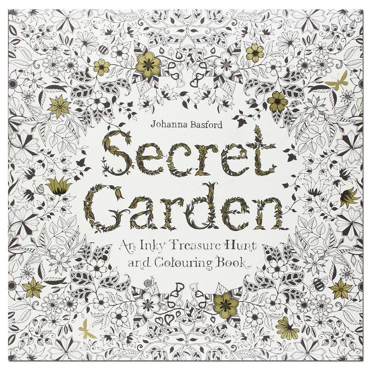11 Best Color Secret Garden Images On Pinterest
