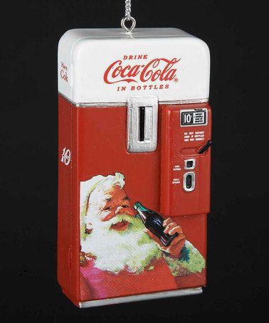 Loving this Coca-Cola Vending Machine Ornament on #zulily! #zulilyfinds