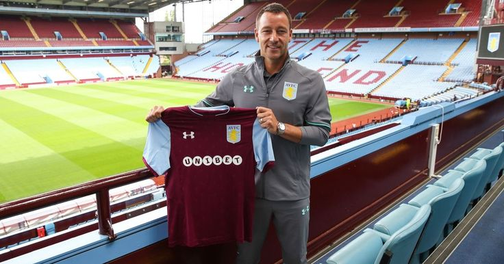 Terry has been given the No.26 shirt at AVFC - and he's chuffed to bits!