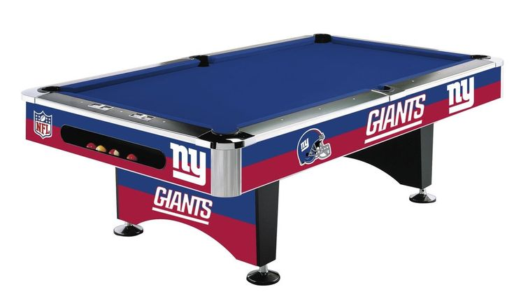 New York Giants 8' NFL Pool Table - Imperial Usa Imp 64-1013