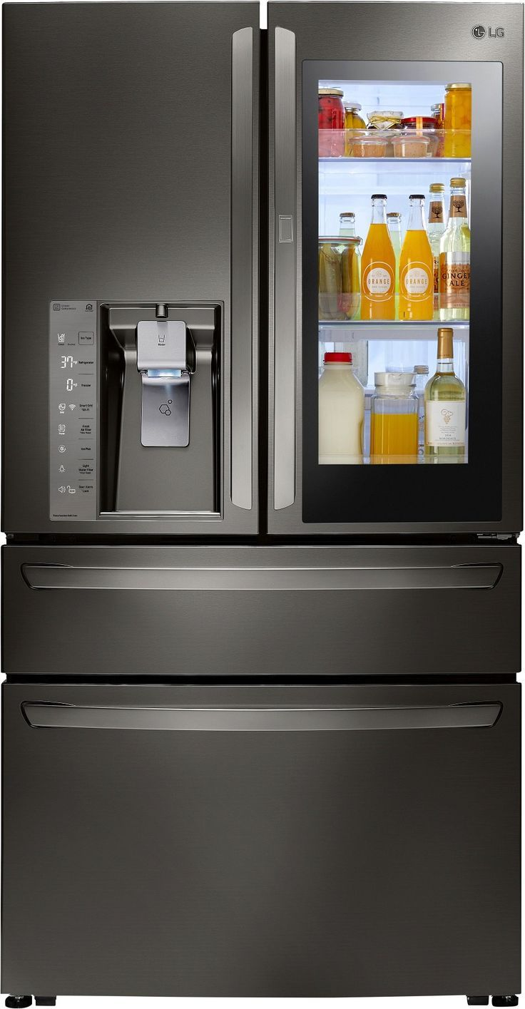 Knock Knock Who S There Lg Instaview Door In Door Refrigerator