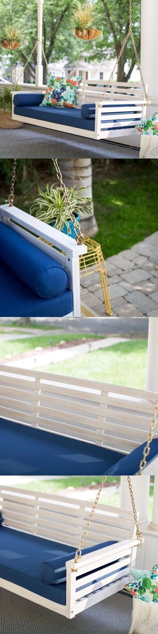 Best 25+ Porch swing beds ideas on Pinterest | Porch bed, Hanging ...