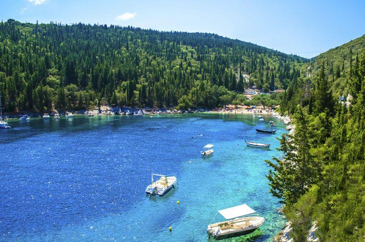 Foki Beach, Kefalonia, Greece