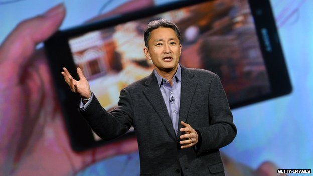 Sony chief executive Kazuo Hirai has been struggling to turn around its television and smartphone businesses ▼17Sep2014BBC|Sony predicts increased losses due to struggling mobile business http://www.bbc.com/news/business-29233644 #sony #Kazuo_Hirai